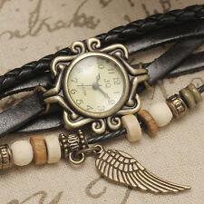 nuevo reloj de pulsera de cuero de las mujeres del reloj de cuarzo de moda