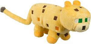 Mojang Minecraft 5952 14-Inch Ocelot Plush Toy Kids Collect Gift