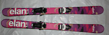 Elan Twist Pro Junior 125cm skis Twin tip  + tyrolia peak Adjustable bindings