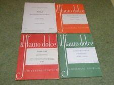 Quartet Recorder Sheet Music & Song Books