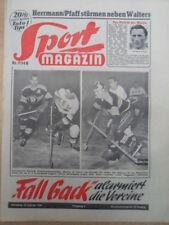 SPORT MAGAZIN KICKER 7B - 18.2. 1954 Eishockey-WM Unsin Jochems Ski-WM Zatopek