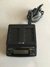 Original OEM Sony AC-SQ950 Charger for NP-FM500H NP-QM71 NP-QM91 Battery