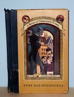 Lemony Snickett - Bad Beginning - 1st 1st - Series of Unfortunate Events - NR