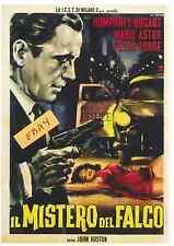 Two (2) Maltese Falcon Poster- Italian - Stefano - Unique At Ebay Only $6.99