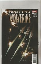 Marvel Comics Hunt for Wolverine #1 June 2018 Blank Variant 1st Print NM