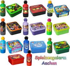LEGO Trinkflasche Brotdose Ninjago Chima Friends Movie Drinking Bottle Lunch Set