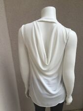 Preowned Robert Rodriguez Woman Sleeveless Top SZ S White