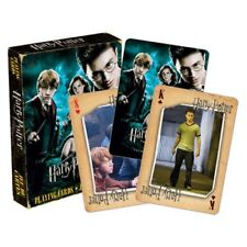 NEW Harry Potter * Order of the Phoenix Playing Cards * Movie Magic Sealed NIP
