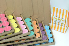 Soy Wax tealights (SCENTED - FRUITY - MULTI LISTING) Hand poured in UK