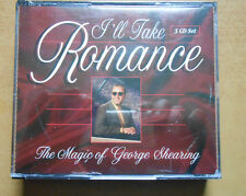 I'LL TAKE ROMANCE, GEORGE SHEARING, 3 CD SET