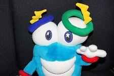 "IZZY Whatizit Plush 1996 Atlanta Olympic Mascot 15""  Stuffed Animal Stands"