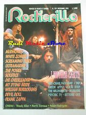 rivista ROCKERILLA 159/1993 Mother Earth Ultramarine Ice & God Frank Zappa No*cd