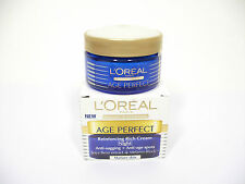 L'Oreal Age Perfect Reinforcing Rich Cream Night (Mature Skin) 50ml -CODE:28H201