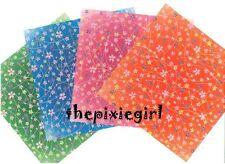 ORIGAMI PAPER JAPANESE SAKURA CHERRY FLOWER CHIYOGAMI PRINT 32 SHEETS