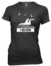 I Believe Loch Ness Monster Nessie Funny Womens Ladies T-Shirt