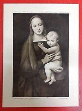 COLLECTABLE Madonna del Granduca & Child, Raphael, Florence. Burlington Fine Art