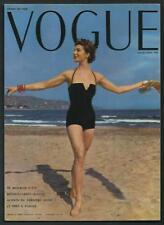 Vogue - Robert Randall - Cartolina riproducente copertina del 1953 - cm 13 x 18