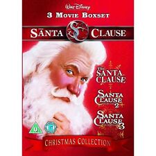 The Santa Clause Movie Collection Dvd Box Set New