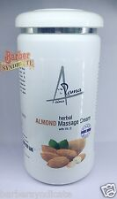 Aroma Aina Herbal Almond Massage Cream With Vit.E 900ml. Face & Body Family Pack