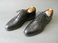 Crockett & Jones PEMBROKE Black Leather Wingtip Brogues Shoes 9.5UK 43.5EU 10.5U