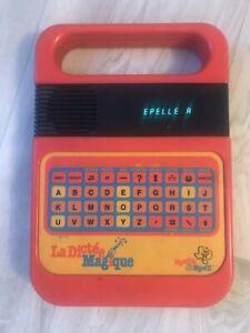 Dictee Magique Texas Instruments - Jeu Educatif Ancien  Vintage