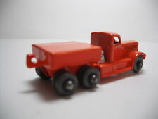 RESTO-MOD LESNEY MATCHBOX #15A PRIME MOVER  W/RARE GREY PLASTIC WHEELS