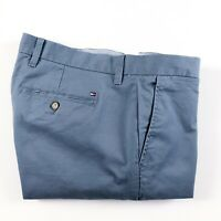 TOMMY HILFIGER Chinos Men's THFLEX Stretch Straight Fit Faded Indigo 78C8597-453