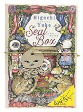 Yuko Higuchi Seal Box Japan Art Design 350 Stickers Cute Fun Animals w/Tracking#