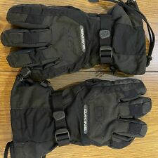 New listing Dakine Outdoor Men's Size Medium Ski Snowbord Snow Gloves Black