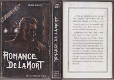 C1 Jean BRUCE Romance Mort FN ESPIONNAGE 1 1950 EDITION ORIGINALE Rare OSS 117