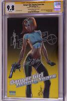 Danger Girl :Twenty Years #nn Signed by J.Scott Campbell  CGC 9.8