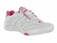 Pineapple Dance Fusion Lightweight Gym Fitness Sport Womens Girls Trainers Shoes White / Pink UK 7