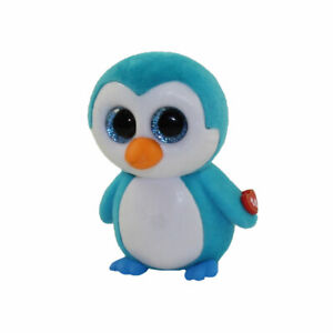 Ice Cube the Blue Penguin Ty Series 2 Mini Boo - New!