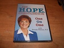 The H.O.P.E. HOPE Consultation One On One With Brenda Watson (DVD 2006) NEW