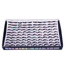 wholesale lot 100pcs Color Changable Mood  Ring 6-9#