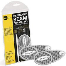 AA Eurolites European Headlight Deflectors Headlamp Converters Beam Adaptors