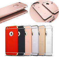iPhone Hülle Full Cover Bumper Schutz Case Schutzhülle Silikon Handyhülle Tasche