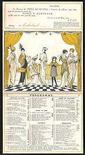 Invitation - Mode. Les Trois Quartiers. Présentation privée. 1914. Art Déco