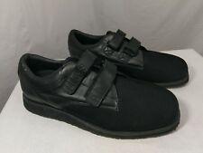 Men's Black Oasis X-Tender Shoe 12 Wide Clinical Footwear