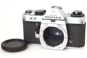 Pentax KX Seulement Corps Chrome Avec Bouchon Acccettabili Signes D'Utilisation
