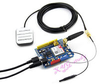 Quad-band GSM/GPRS/GPS Arduino Shield Based on SIM808 CP2102 Bluetooth Module
