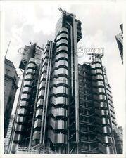 1986 Construction Lloyd's of London Building 1980s England Press Photo