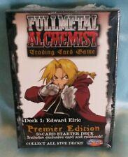 Fullmetal (Full Metal)  Alchemist TCG/CCG Starter Deck Edward Elric *sealed*