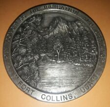 Medallion Medaglione 12 th Congress on Irrigation and Drainage Fort Collins '84