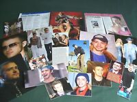 JUSTIN TIMBERLAKE - MUSIC CELEBRITY - CLIPPINGS - CUTTINGS PACK