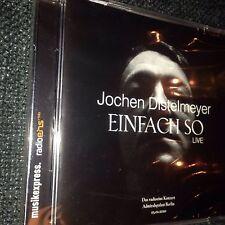 Jochen Distelmeyer - Einfach So Live CD NEU Blumfeld