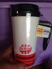 Tim Hortons Horton's Coffee & Bake Shop Plastic Mug -Tumbler With Handle 2015