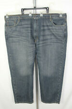 Levi's 550 Mens Size 52x28 (53x28.5) Blue Faded Big & Tall Pants Denim Jeans