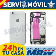 "Chasis Trasero + Flex Botones para Iphone 6S 4.7"" Plata Carcasa 4.7 Gris Silver"
