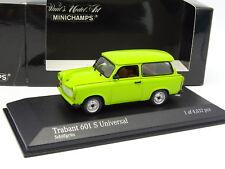 Minichamps 1/43 - Trabant 601 S Universal verte